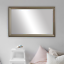 thumbnail 32 - Framed Wall Mirror - Black, White, Espresso/Brown, Nickel