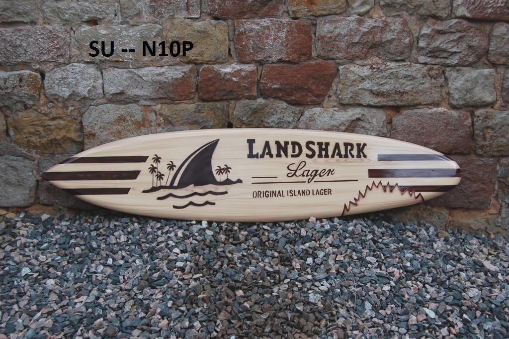 WOODEN 130cm MODEL ORNAMENTAL RETRO SURFBOARD surfer surf board beach  su130N10P