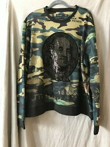Hudson-Outerwear-Mens-Multicolor-Long-Sleeve-Crew-Neck-T-Shirt-Size-3X