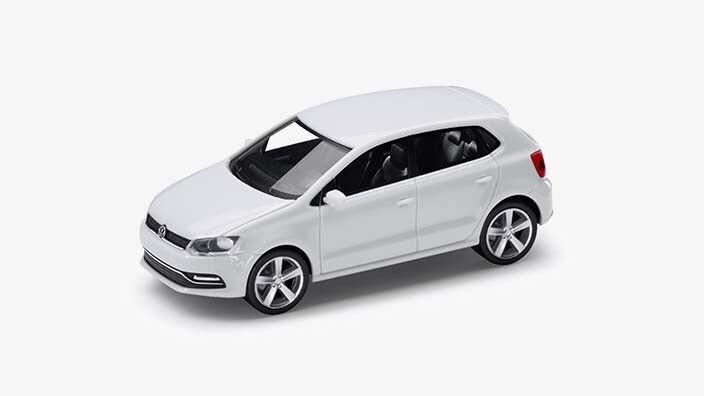 Aux Aux Aux chaussures actives | RARE VW Polo 6 C TDI TSI 2016 5 Porte Trappe Blanc Pur 1:87 Herpa (concessionnaire modèle) 73bd4c