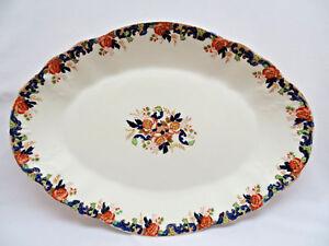 "Decorative Arts Antiques Rational John Maddock 1896 England ""majestic"" Imari Platter"