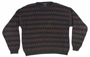 2308-VTG-90s-San-Mateo-Island-Sportswear-Herren-grosse-Pullover-Geometrische-Bill-Cosby