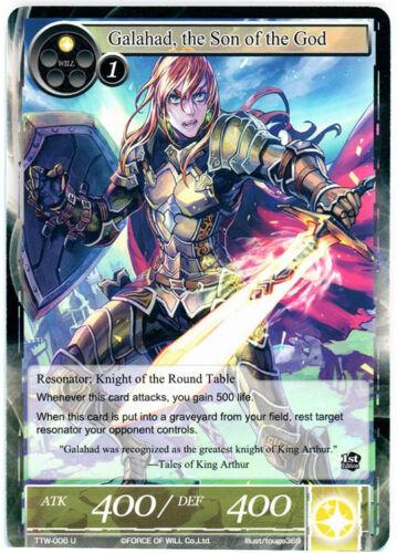 The Son of the God 4x 4 x Galahad TTW-006  U Force of WIll Twilight Wanderer