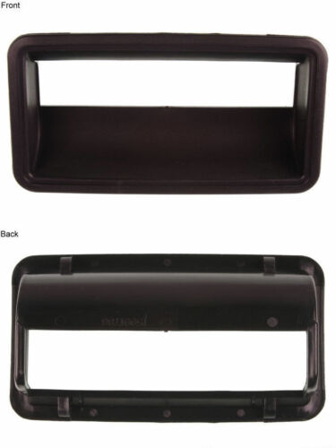 Black Fits OE# 15991786 Tailgate Handle Bezel