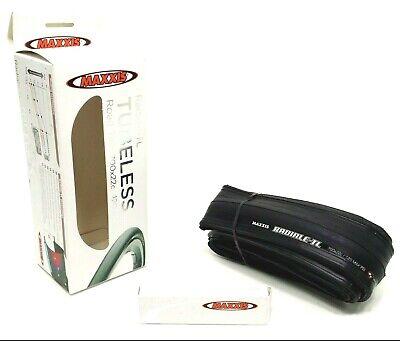 Maxxis RADIALE-TL Tubeless Ready Folding Clincher Road Bike Tire 700 X 22//24 mm