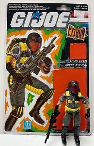 GI-Joe-Python-Viper-V2-Complete-from-1989-amp-Full-Canadian-File-Card-ARAH-Cobra