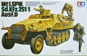 Tamiya-1-35-scale-Mtl-SPW-Sd-Kfz-251-1-Ausf-D-WW2-German