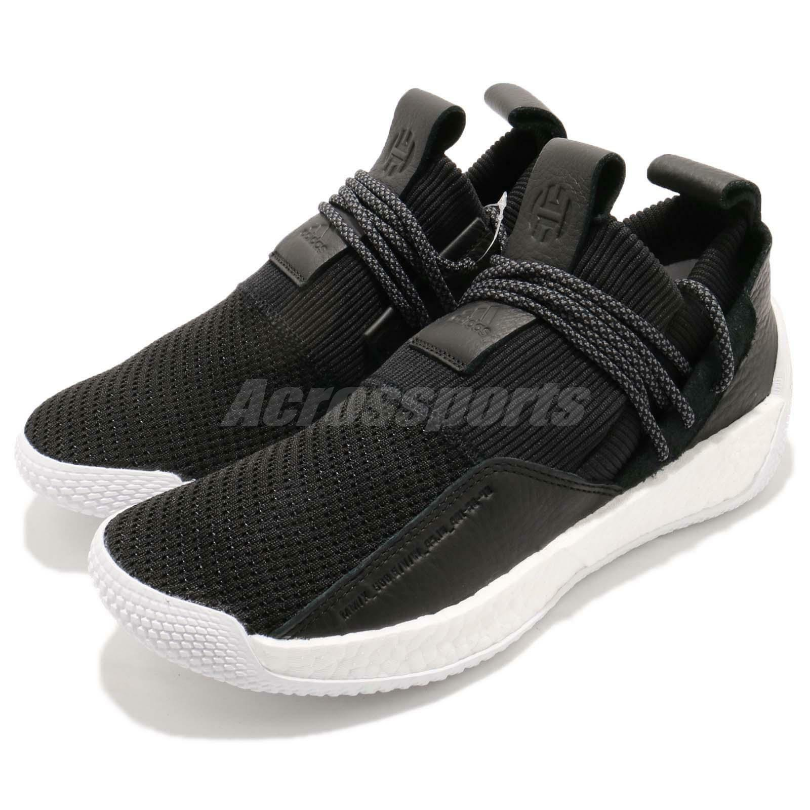 adidas Harden LS 2 Lace II James Boost Hommes Noir blanc  Gold Hommes Boost Lifestyle BB7651 b8e758