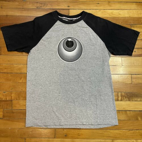Vintage JNCO Jeans Shirt XL Eyeball Raglan *RARE*