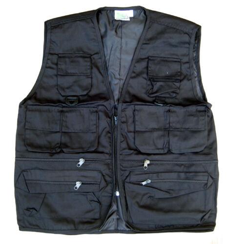 Mens Combat Army Military Waist Coat Hunter Fishing Assault Tactical Jacket Vest