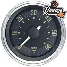 Vw Beetle T1 >67 80mm Rev Counter Tachometer 6000rpm 12v Digital Smiths Oe Style