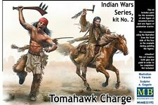 MasterBox MB35192 1/35 Tomahawk Charge Indian War Series Kint N°2