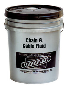 Lubriplate Chain Amp Cable Fluid Petroleum Based Oil L0135