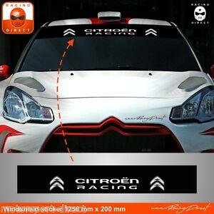 Details About Sticker Citroen Racing C1 C2 C3 C4 Ds3 Ds4 Aufkleber Adesivi Pegatina Ci43b