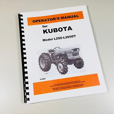 Long 445 Tractor Operators Owners Manual