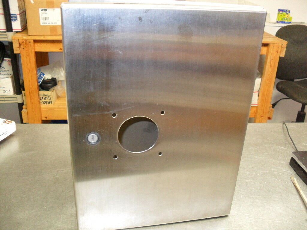 Stainless Steel Enclosure LHC233116SS NEW... Hoffman 230x310x155mm Wall-Mount