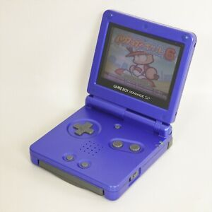 Game Boy Advance SP Azurite Blue AGS-001 Console Nintendo 12766718 gba
