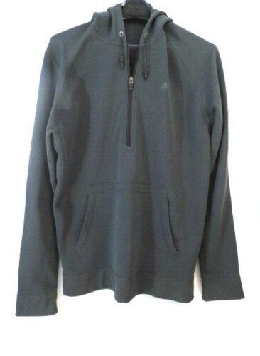 Vintage Men's Nike ACG 1/4 Zip Hoodie Charcoal Siz