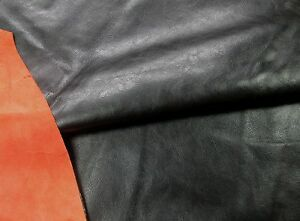 100% De Qualité Noir Veau Vachette Pour Leathercraft. Barkers Hide & Leather Skins N274-afficher Le Titre D'origine