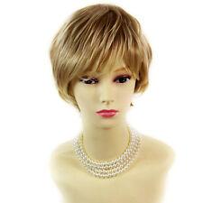 Wiwigs Natural Short Wavy Blonde Mix Full Ladies Wig
