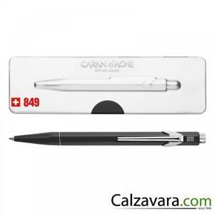 Caran d'Ache 849 Sfera POPLINE Ballpoint Pen con Astuccio - Nero Black B9iTm9K3-09094613-427847093