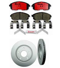 Brake Discs 320mm Vented Nissan Murano I 3.5 4x4 Front Delphi Brake Pads