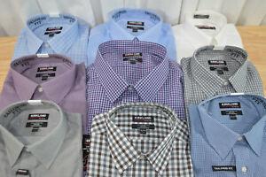 NWT-Men-039-s-Kirkland-Signature-Tailored-Fit-Button-Down-Dress-Shirt-VARIETY