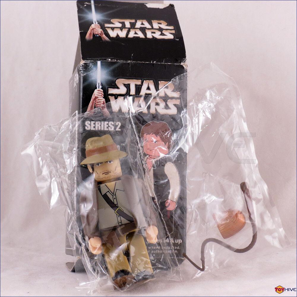 estrella guerras Kubrick Indiana Jones HAN SOLO SEGRETO Chase cifra da Medicom giocattoli