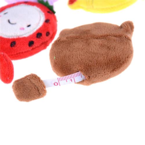 MiniCute Cartoon 150cm 60 Inch Plush RetractableTape MeasureRuler Sewing ToolJ/&C
