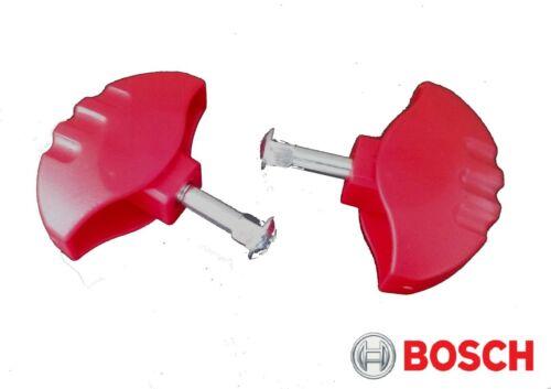 2x Bosch Rotak 32 34 37 écrou papillon pince /& /& Boulon Tondeuse à gazon F016L66155 F016L66136