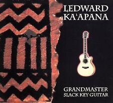 Hawaiian Music CD Ledward Ka'apana Grandmaster Slack Key Guitar led