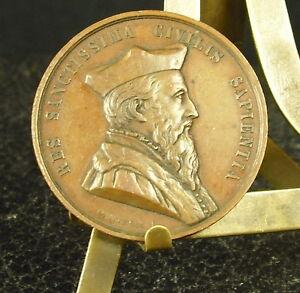 Medaille-RARE-JETON-ACADEMIE-LEGISLATION-TOULOUSE-1851-DANTZELL-Medal
