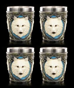 Ghost-Wolf-Liquor-4er-Set-Fantasy-Glasses-Mug-Shot