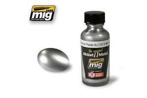 AMMO OF MIG A.MIG-8205 ALC107 Chrome For Plastic 30ml ALCLAD II