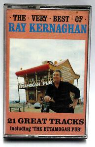 The Very Best of Ray Kernaghan 21 Track Australian Album Music Cassette Tape!