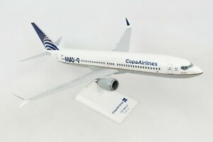 Skymarks-SKR1003-Copa-Airlines-Boeing-737-Max9-Desk-Display-1-130-Model-Airplane