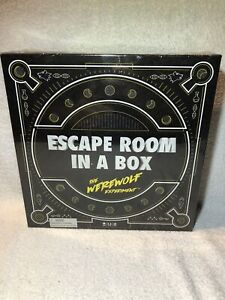 Escape-Room-In-a-Box-The-Werewolf-Experiment-Family-Board-Game-New-Sealed