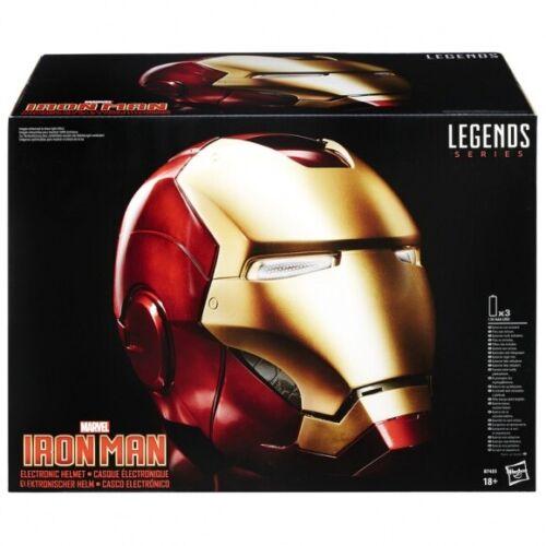 Marvel Legends Electronic Iron Man Helmet IN STOCK