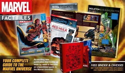 eaglemoss factfiles magazines