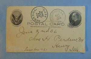 Charles-H-Perdew-Sr-Henry-Il-Vintage-Post-Card-May-26-1906