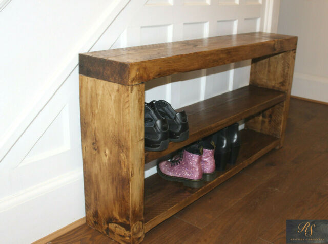 Reclaimed Wood Hallway Wooden Shoe