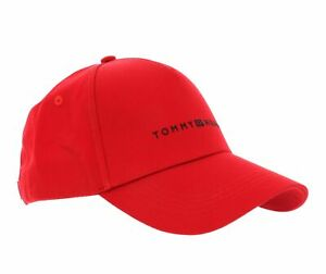 TOMMY HILFIGER Uptown Cap Cap Accessoire Primary Red Rot Neu