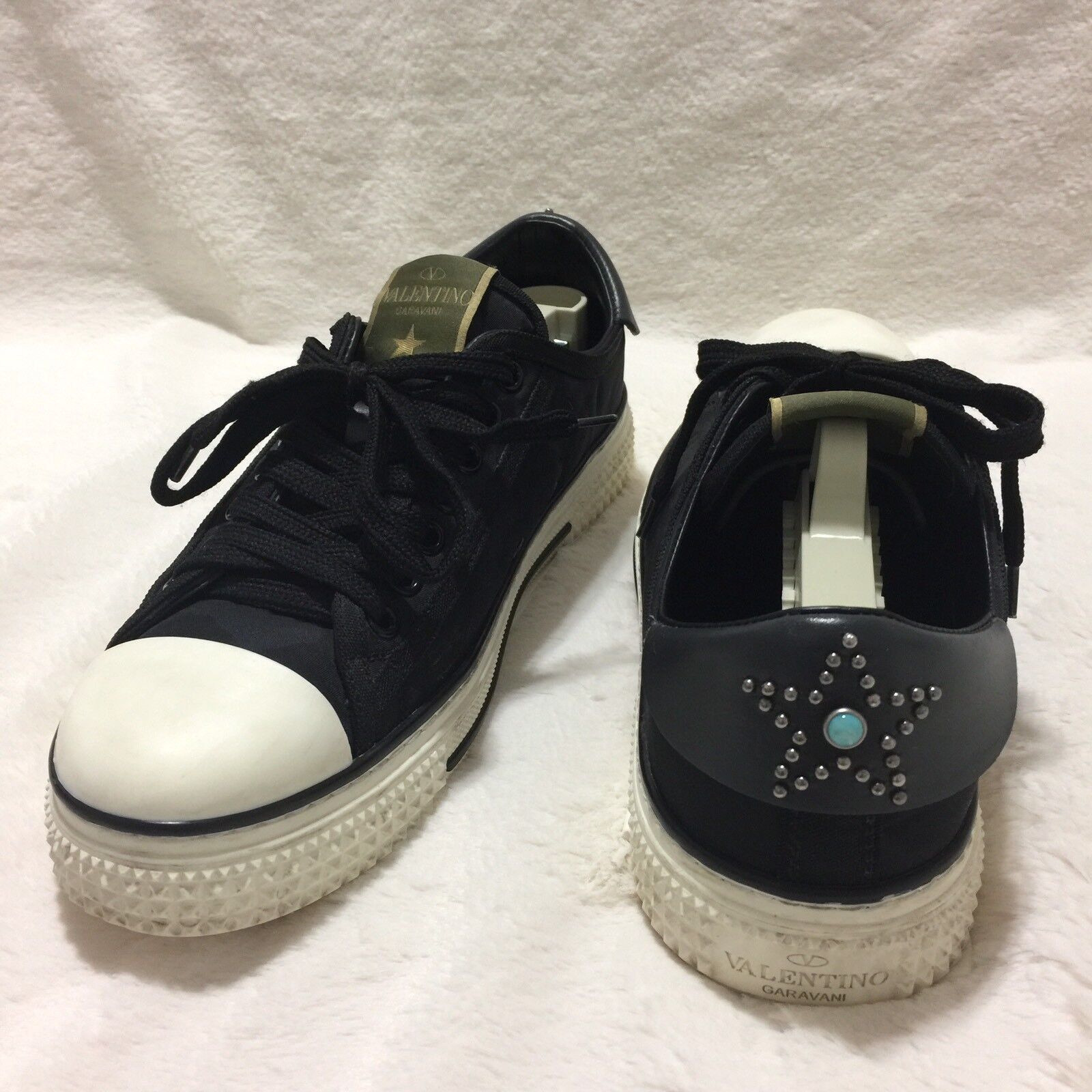 VALENTINO 'Starstudded' Low Top Women's Sneaker Size 38
