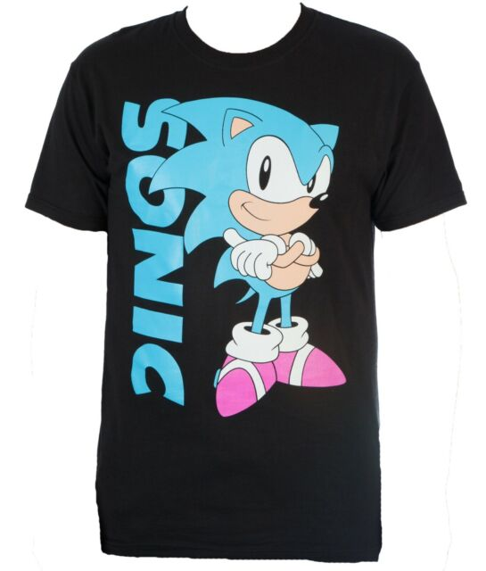 SEGA Sonic The Hedgehog Boys 2 Pack Long Sleeve Graphic T-Shirts