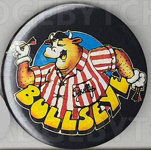 BULLSEYE-ROUND-FRIDGE-MAGNET-CLASSIC-80-039-s-TV