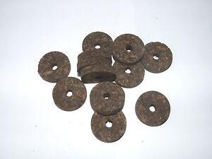 "Cork Rings  100 Burnt Burl  1 1//4/"" X 1//2 /""X1//4/"""