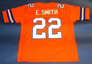 separation shoes f409d 5b833 Details about EMMITT SMITH CUSTOM FLORIDA GATORS O JERSEY