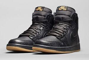 1caa9ce1a5f Details about Nike Air Jordan 1 Retro High OG Black Gum Size 10. 555088-020  2 3 4 5 6