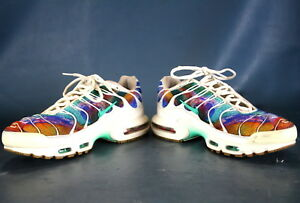 best service 82c70 058ff Image is loading Nike-Air-Max-Plus-Tn-Print-Galaxy-Rainbow-
