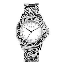 Orologio Watch Versus Versace SF701-0014 Tokyo Policarbonato Bianco Nero White